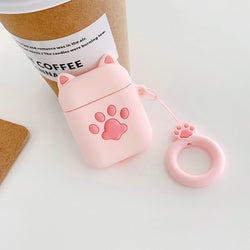 Kitty Paw Airpods Cases
