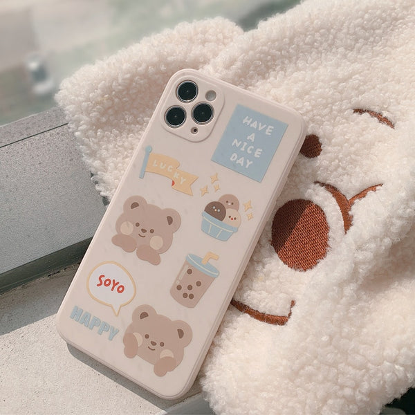 Bubble Tea Bear Case