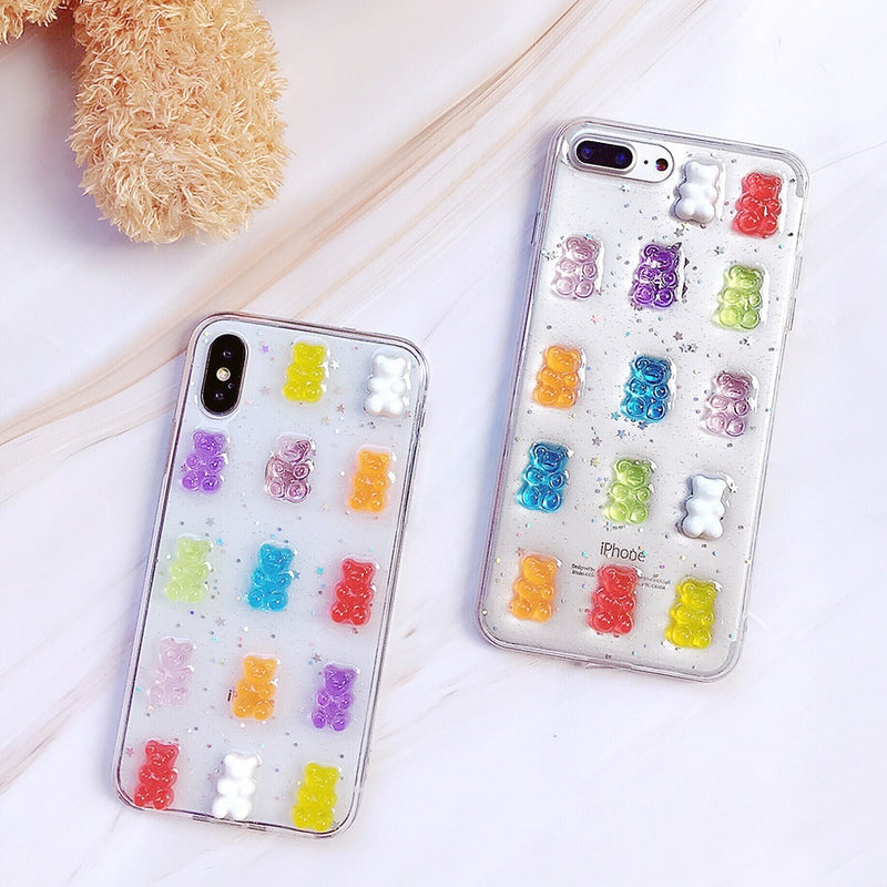 Transparent Gummy Bear Case
