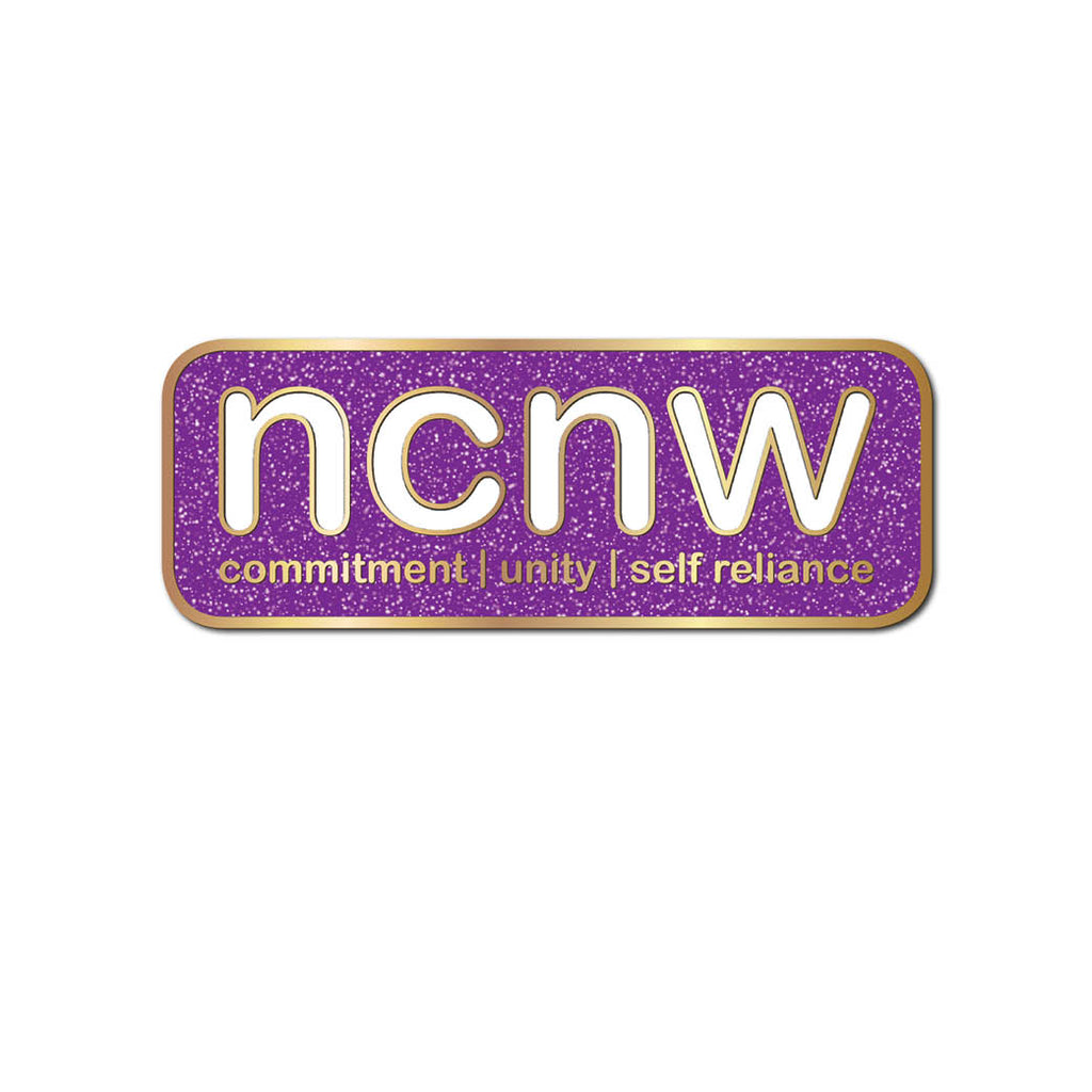 Lapel Pin: NCNW Sparkle