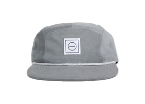 Corduroy Five-Panel Hat in Cloud