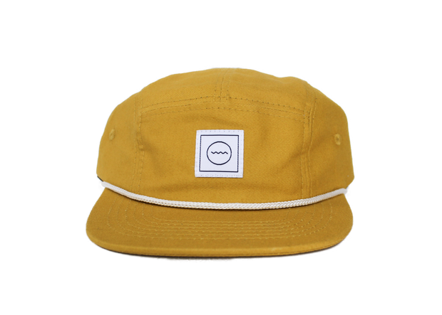 Cotton Five-Panel Hat in Sol 1