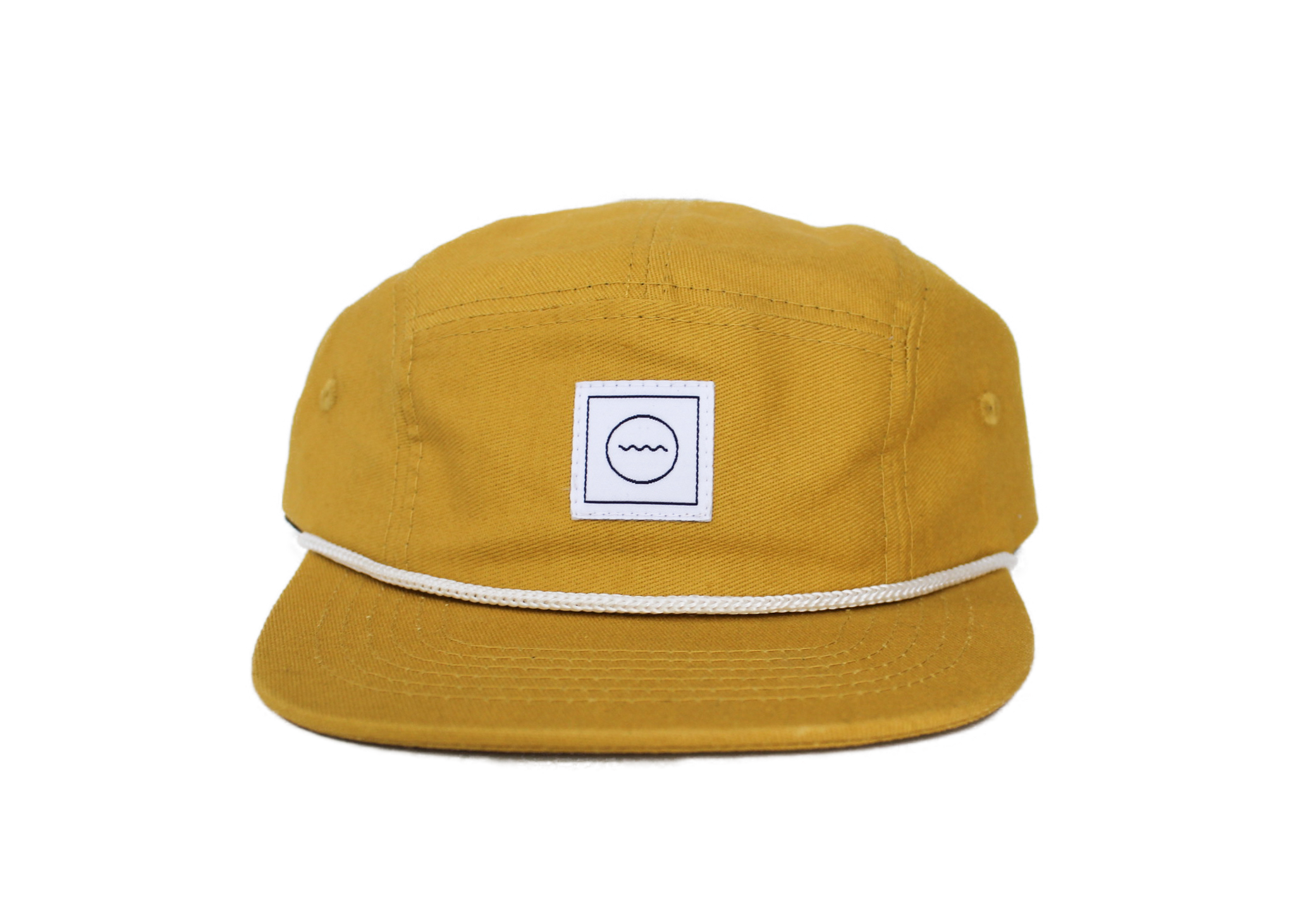 Cotton Five-Panel Hat in Sol
