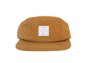 Waterproof Five-Panel Hat in Clay