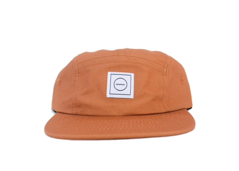 Cotton Five-Panel Hat in Harvest