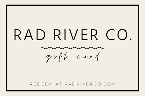 Rad River Co. gift card