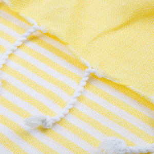 100% Cotton Hammam Towel Yellow