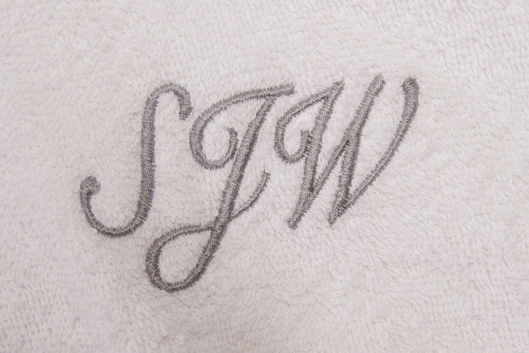 Personalisation embroidery