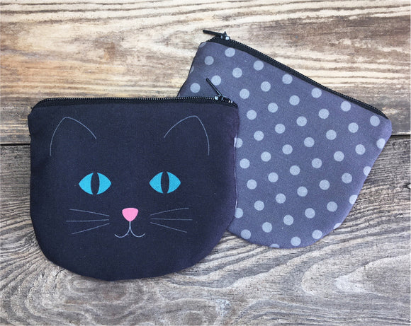 BLACK CAT Coin purse