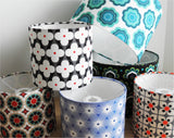 WALLPAPER FLOWER 20cm Lampshade