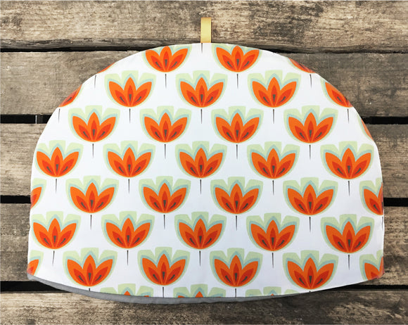 ORANGE TULIP - Tea cosy