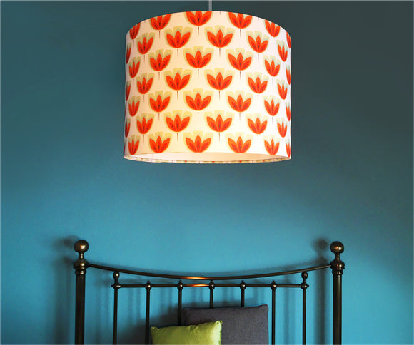 ORANGE TULIP 30cm Lampshade