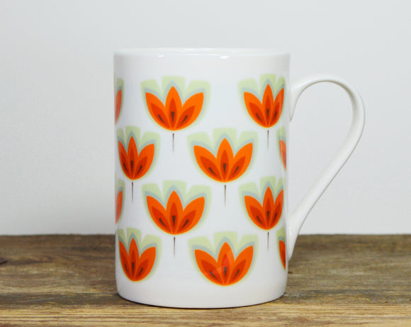 ORANGE TULIP China mug