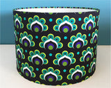 PEACOCK FLOWER 30cm Lampshade