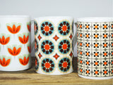 WALLPAPER FLOWERS China mug