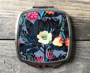 TROPICAL NIGHT Compact Mirror