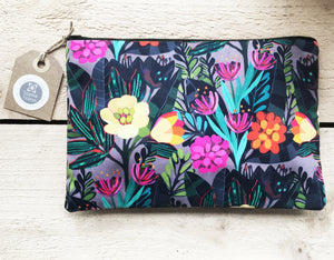 TROPICAL NIGHT Make up bag / pouch