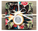 TROPICAL NIGHT Set of 4 Square Coasters
