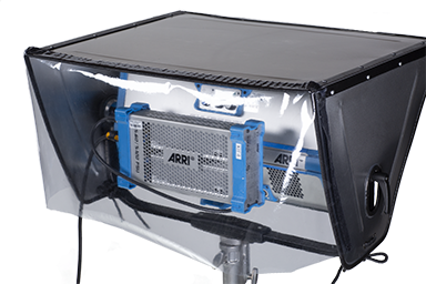 ARRI Skypanel S60 Rain Hat **Now Featuring a Removable Rear Cover**