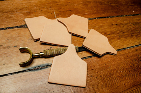 Leather Cow Tag Blanks