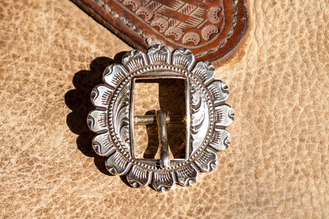 PH Casting- Concho Buckle with Slot- CB1