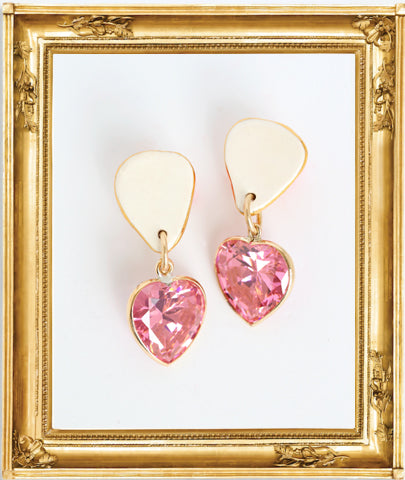 Surrealist Heart Earrings