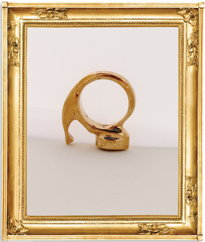 Dolly Shoe Ring