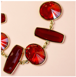 Red Channel Necklace