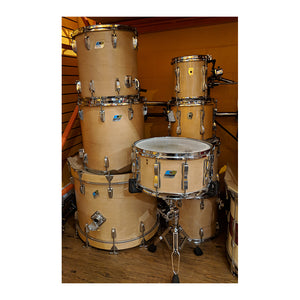 Late 1970's Ludwig 8-Piece Drum Kit