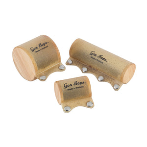 Gon Bops Wood Drum Shakers (3-Pack)