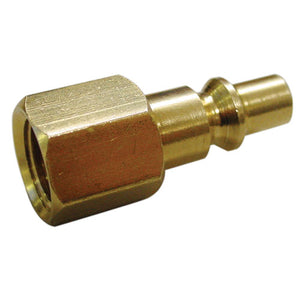 "AmPro A6556 Female Connector Brass 1/4"" BSP (Aro Type) 2pc Carded"