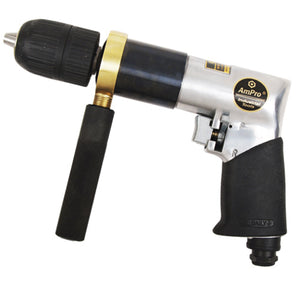 "AmPro A2443 Reversible Air Drill 1/2"" with Keyless Chuck"