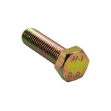 M8 X 25mm X 1.25 Set Screw-Gr.8.8-8Pk