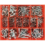415Pc Self Tapping Screw Assortment