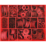 825Pc 1/32in Fibre Washer Assortment