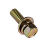 M8 X 30mm Sems Hex Bolt W/Spring & Flat Washer