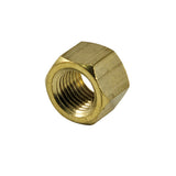 M10 X 1.50mm Manifold Nut-Brass-Mazda-10Pk