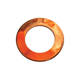 M24 X 38mm X 1.0mm Copper Washer - 50Pc