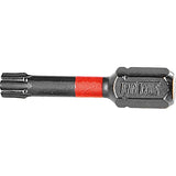 Teng 1Pc 1/4in Tx10 Impact Screwdriver Bit 30mm