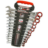 Powerbuilt 13Pc Metric Reversible Gear Spanner Set