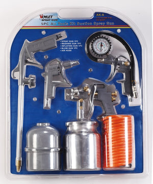 Voylet 5 Piece Spray Gun Kit