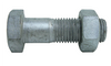 Metric Bolts & Nuts 4.6 - Galvanised - M30 Diameter