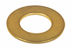 Brass Imperial Light Flat Washers