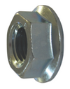 Metric Flange Nuts Class 8 Zinc Plated