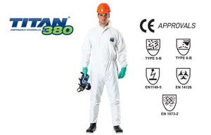 Titan 380 Disposable Coverall