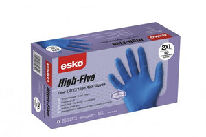 High Five High Risk Latex Glove