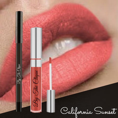 By The Clique Premium Matte Lip Kit | Cliquestick and Liner Set  | 13 Colors