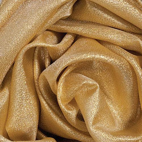 "GLITTER TAFFETA FABRIC 58"" x 20 Yards (4 Colors; Gold,  Silver, Blue, Red)"