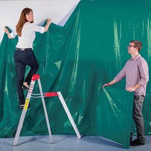 Poly Vinyl Backdrop 12' by 100'  8 Colors Available  ( Ships only to 48 Contiguous US States)