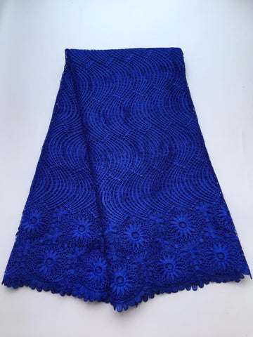 African Lace Hot Sell Mesh Cord Lace /Guipure Lace Fabrics High Quality S9-9024